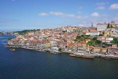 波尔图葡萄牙风景视图 图库摄影