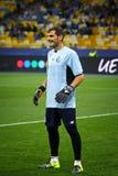 波尔图足球俱乐部的守门员伊克尔・卡西利亚斯 库存图片