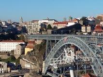 波尔图都市风景,葡萄牙 库存照片