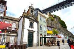 波尔图,葡萄牙旅游看法  免版税库存图片