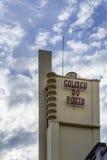 波尔图,葡萄牙- 7月, 04 :Coliseu做波尔图地点 免版税库存照片