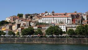 波尔图,葡萄牙- 2010年7月10日:市中心 库存图片
