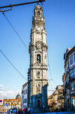 波尔图,葡萄牙- 10月20,2012 :Clerigos塔(Torre dos Cle 库存照片