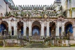 波尔图 大教堂在波尔图 免版税库存照片