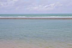 波尔图de Galinhas海滩 图库摄影