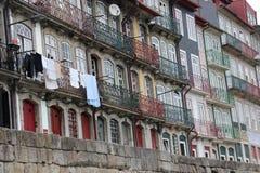 波尔图Ribeira,葡萄牙 免版税库存图片