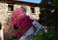波尔图Rotondo -撒丁岛的建筑学 库存图片
