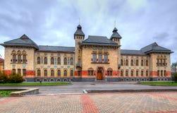 波尔塔瓦建筑学。乌克兰。 免版税库存图片