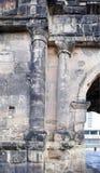 波尔塔老黑黑色门-最大和最保存良好 免版税库存照片