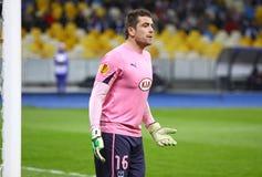 波尔多足球俱乐部的守门员塞德里克Carrasso 库存图片