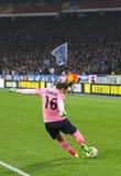 波尔多足球俱乐部的守门员塞德里克Carrasso 免版税库存图片