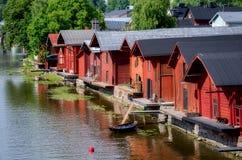 波尔沃,芬兰。 库存图片