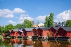 波尔沃,芬兰。 图库摄影