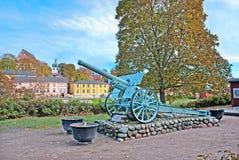 波尔沃 芬兰 枪-纪念品 免版税库存图片