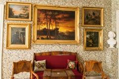 波尔沃- Runeberg房子  免版税库存图片