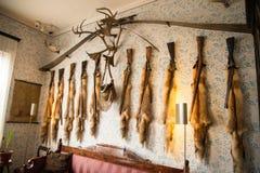 波尔沃- Runeberg房子  库存照片