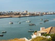 波尔蒂芒,葡萄牙- 2017年10月13日:波尔蒂芒, Portuga看法  库存图片