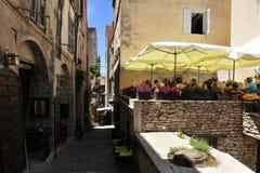 波尼斯奥,Corse,法国 库存图片