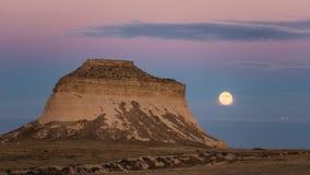 波尼族印第安小山 库存照片