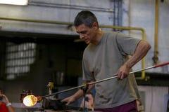 波希米亚水晶产业 免版税图库摄影
