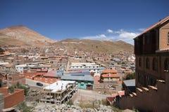 波托西玻利维亚银矿  库存照片
