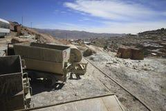 波托西玻利维亚银矿  免版税库存照片