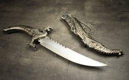 波斯匕首 免版税库存照片