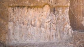 波斯国王的大墓地的雕刻 影视素材