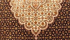 波斯地毯设计 库存照片