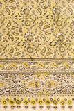 波斯地毯特写镜头  库存照片