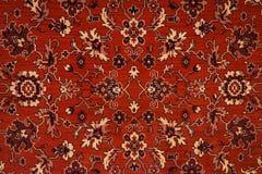 波斯地毯纹理 库存照片