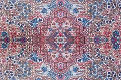 波斯地毯纹理 免版税库存图片
