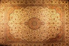 波斯地毯纹理 库存图片