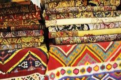 波斯地毯艺术和工艺品  免版税图库摄影