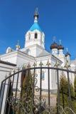 波斯塔维圣尼古拉教会 免版税库存图片
