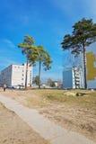 波斯塔维街道  免版税库存照片