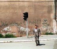 波斯尼亚人南北战争 库存图片