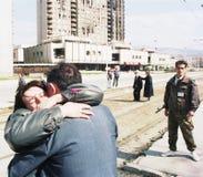 波斯尼亚人南北战争 免版税库存照片