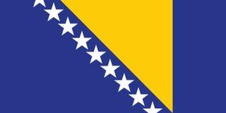 波斯尼亚标志黑塞哥维那 免版税图库摄影