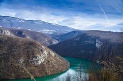 波斯尼亚的湖 库存图片