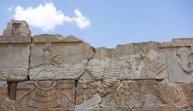 波斯波利斯废墟在伊朗 图库摄影