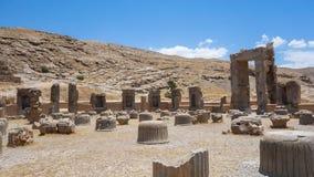 波斯波利斯废墟在伊朗 库存图片
