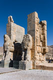 波斯波利斯,伊朗古老废墟  免版税图库摄影