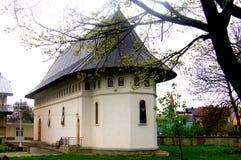 波格丹修道院,摩尔达维亚,罗马尼亚教会  图库摄影
