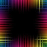 波浪五颜六色的背景 免版税库存图片