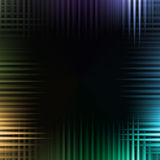 波浪五颜六色的背景 库存图片