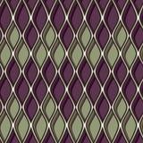 波浪五颜六色的衬衣作用无缝的样式 库存照片