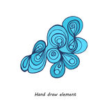 波浪元素 库存图片