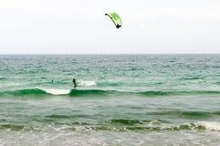 波浪和风 图库摄影