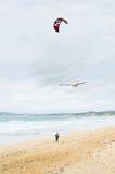 波浪和风 免版税库存图片